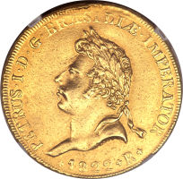 Brazilian Pedro I Coronation Piece Leads 5,300+ Heritage Auctions CICF Offerings