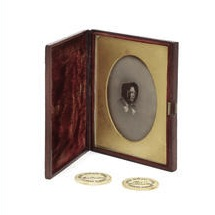 Photographic portrait of Charles Dickens's wife, Catherine for auction at Bonhams