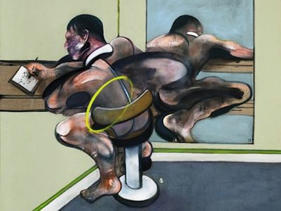 Sotheby's to auction Francis Bacon Figure Writing Reflected In Mirror