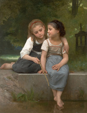 Bouguereau's Fishing For Frogs Makes $1.76 Million At Heritage Auctions