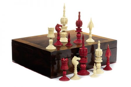 Rare Indian chess sets to be auctioned by Bonhams on May 1