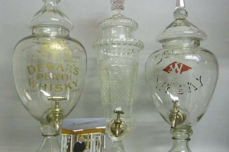 RICHARD WINTERTON AUCTIONEERS TO OFFER THE BRIAN BROOKS COLLECTION OF WHISKY DISPENSERS