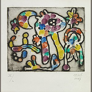 Works by Joan Miro lead $1,277,413 Bonhams San Francisco auction