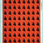FULL SHEET OF 80 CHINESE YEAR OF THE MONKEY STAMPS FROM 1980 BRINGS $135,600 AT THREE-DAY AUCTION HELD APRIL 19-21 BY PHILIP WEISS AUCTIONS