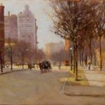 ORIGINAL OIL ON CANVAS PAINTING BY AMERICAN ARTIST PAUL CORNOYER (1864-1923) FETCHES $96,000 AT SHANNON'S FINE ART AUCTIONEERS, APRIL 26