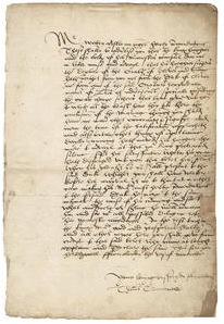 Bonhams to auction Thomas Cromwell letter on Anne of Cleves marriage