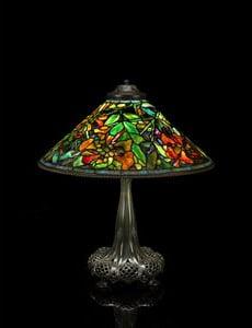 Bonhams to offer Tiffany studio highlights in 20th Century Decorative Arts auction on June 12