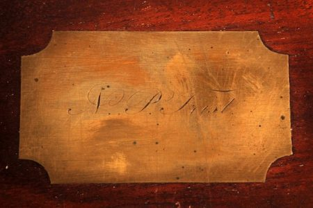 LAP DESK AND QUILL USED TO WRITE AND SIGN THE TREATY OF GUADALUPE HIDALGO IN 1848 WILL BE SOLD AT AUCTION ON FRIDAY, SEPTEMBER 7th, BY AUMANN AUCTIONS, INC., IN PIERCE, NEBRASKA