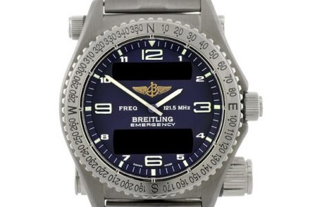 Round-the-World Breitling Watch to Auction at Fellows