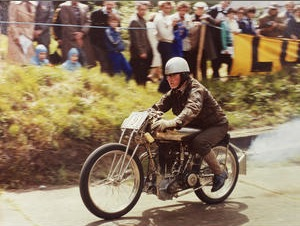 Brooklands racing motorcycle for auction at Bonhams Autumn Stafford Sale