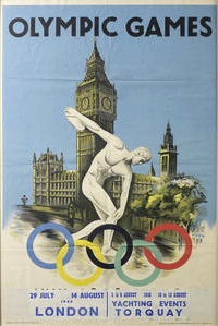 Bonhams to auction London 1948 games poster at Olympic sale