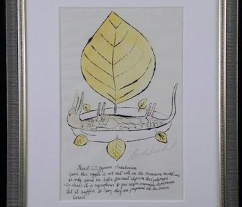 ORIGINAL ARTWORKS BY DA VINCI, WARHOL, PICASSO, MORE WILL BE SOLD  IN AN INTERNET AUCTION ON THURSDAY, AUG. 23rd, BY UNIVERSALLIVE.COM