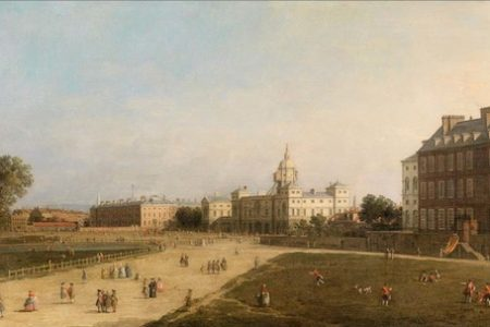 Dorotheum to auction New Horse Guards from St James's Park by Canaletto