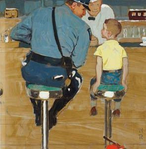 Norman Rockwell drawings for Christies auction