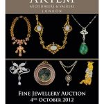 Artem of London to hold Fine Jewellery Auction on 4th October