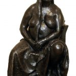 VERY LARGE BRONZE FIGURAL WORK BY FRANCISCO ZUNIGA (1912-1998) COULD FETCH $250,000 AT ELITE DECORATIVE ARTS AUCTION SLATED FOR OCTOBER 13th