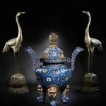 Imperial Chinese cloisonne for auction at Bonhams