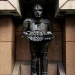 Bonhams to auction bronze self-portrait of Sir Eduardo Paolozzi as Greek God of Fire