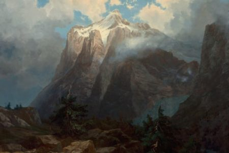 Albert Bierstadt 1872 Landscape Headlines Heritage Auction