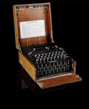 WWII German Enigma code machine auctions at Bonhams for over £80,000