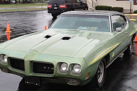 "1970 PONTIAC GTO (""THE JUDGE""), IN ORIGINAL CONDITION, ROARS OFF FOR $25,875 AT TIM'S, INC.'S FIRST-EVER FALL SIZZLER SALE HELD SEPT. 30/OCT. 7"