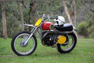 Steve McQueen Husqvarna Motorcycle for Bonhams Las Vegas Auction