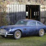 Barn find Aston Martin DB5 for Bonhams auction
