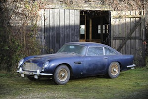 Barn find Aston Martin DB5 for Bonhams auction
