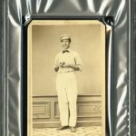 The First Baseball Card? 1863 Harry Wright Coming To The Auction Block REA Spring 2013