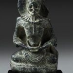 Gandharan sculpture for auction at Bonhams New York