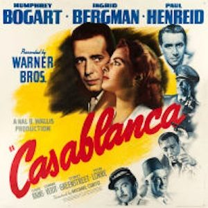 1942 Casablanca Six Sheet Tops Heritage Auctions Movie Poster Event