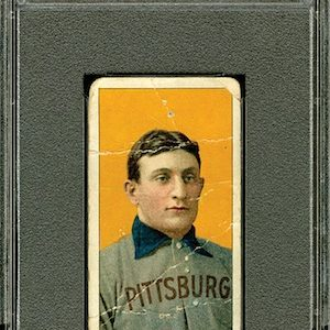 REA Blockbuster Auction Features Baseball Collecting  World's Greatest Treasures Including T206 Honus Wagner