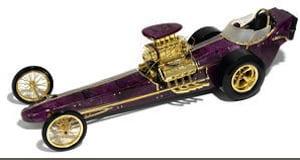 Carved ruby dragster for Bonhams auction