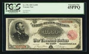 1863 Gold Certificate
