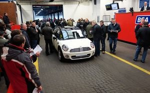 British Car Auctions used car data for March 2013 shows year-on-year values up