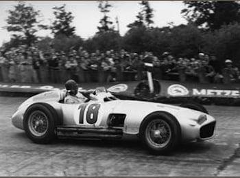 Bonhams to auction Fangio Mercedes Benz Grand Prix Car