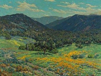 Bonhams to auction Granville Redmond landscape painting