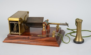 Marconi Magnetic Detector Wireless Telegraph