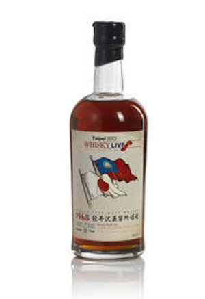 (Select Whisky) Karuizawa-1968-Whisky Live 2012 (1) Bottled 2012. Distilled at Karuizawa Distillery cask Sherry butt. Bottle number 88 of 168. Good label. 700ml. Single Malt, 63.6% volume