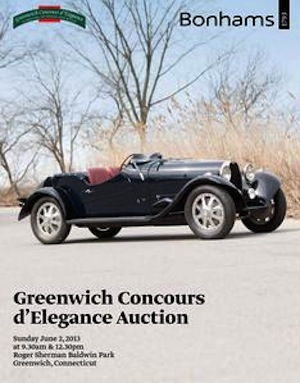 auction automobiles at Greenwich