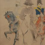COLOR LITHO OF NAPOLEON BY HENRI DE TOULOUSE-LAUTREC, A LARGE CHINESE CARVED AFRICAN IVORY EMPEROR AND EMPRESS AND A HEAVY CHINESE CARVED RED CORAL GROUP WILL LEAD ELITE DECORATIVE ARTS