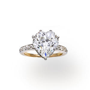 Antique diamond ring, circa 1900