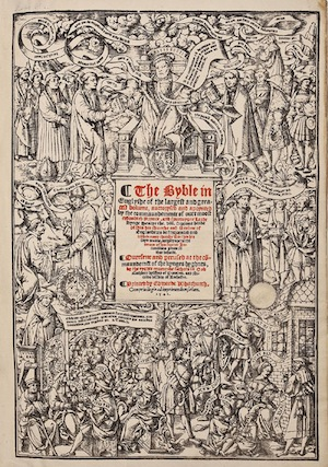 1541 English Great Bible ($9,500)