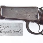 CORDIER AUCTIONS TO SELL INSCRIBED 1894 WINCHESTER, CIVIL WAR CHEVRON AND EDGED WEAPON COLLECTION IN JULY 28 SALE