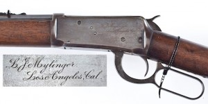 Name Inscribed 1894 Winchester (est $4,000-$6,000)