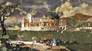 Florentine picture panel auctioned at Bonhams