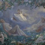 Midsummer Night's Dream fairy painting for Bonhams 19th Century Pictures auction