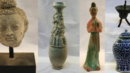 10th Century Tang Dynasty Funeral Urn Highlights Asian Art Section of Unique Auctions Sale