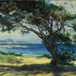 Guy Rose Wind Swept Pines auctioned at Bonhams