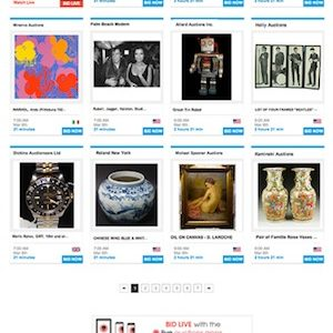 LiveAuctioneers Unveils Sleek New Design Theme In Q2, Reports Significant Increase In Mobile Use